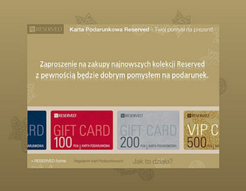 Reserved&Cropptown Gift Cards