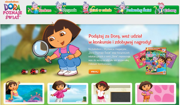 Dora - konkurs