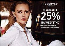 Kampania sprzedażowa Reserved